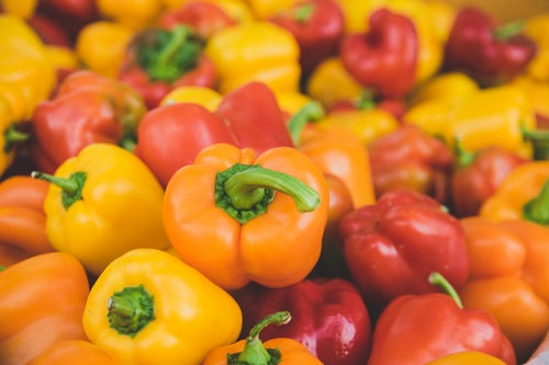 Peppers are a low carb vegetable that are good for weight loss